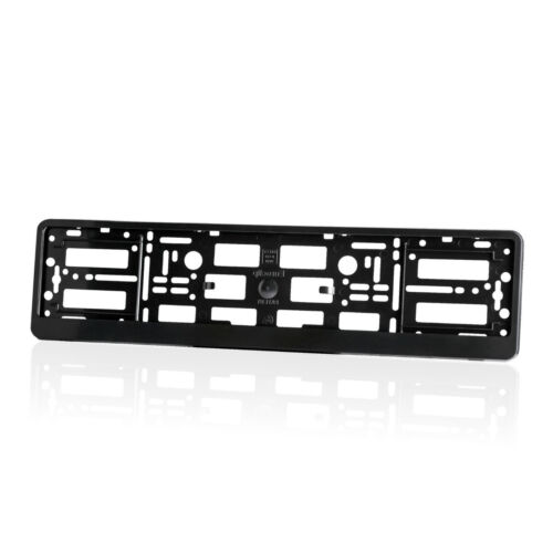 2 x LAND ROVER Black Matte Finish Colorful Number Plate Holders Limited Ed L1