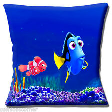 "Finding Dory Disney Pixar Cartoon Character DORY & NEMO 16"" Pillow Cushion Cover"