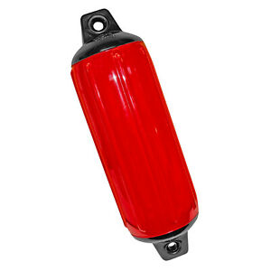 Taylor Made Hull Gard Inflatable Vinyl Fender 5.5 X20 Red 1022 #551022