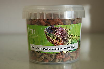 FMR Turtle and Terrapin Complete Food Pellets 336ml Tub Approx 100g