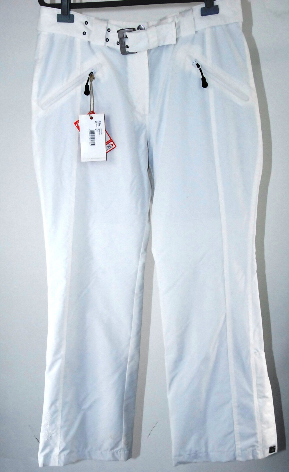 EXXTASY Pantaloni 44 bianco donna Bakersfield Sci Snowboard Pantaloni Nuovo Sci e Ciclismo