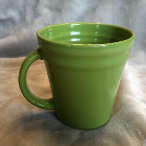 Image Is Loading Rachael Ray Coffee Mug Green Double Ridge