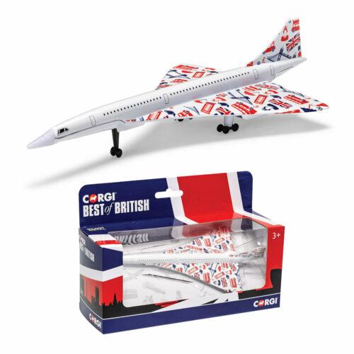 CORGI GS84007 Best of British Concorde DIECAST MODEL