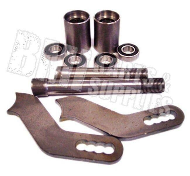 Offset Bearing Spindle Kit  Set, Left & Right, U-Weld Go Kart Racing Parts  wholesale price