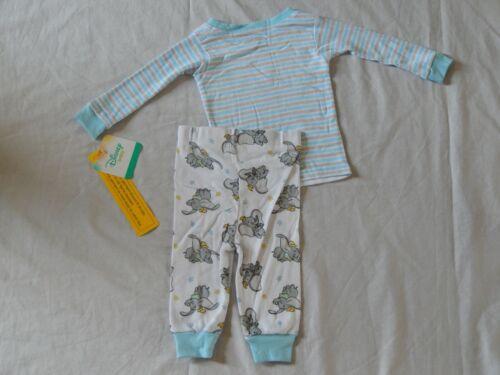 Dumbo 2pc Sleepwear Set NEW Disney movie Pajamas Longsleeve Outfit Boys Sizes