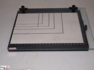 Hama-Vergrosserungskassette-7-1-8x9-3-8in-Rimless-With-Glass