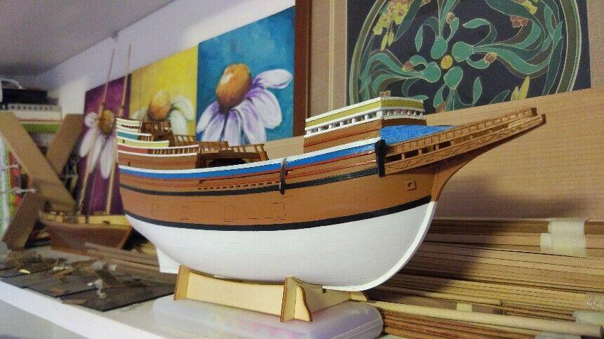Mayflower 1 96 395 mm trämodelll för fartygskit - basversion