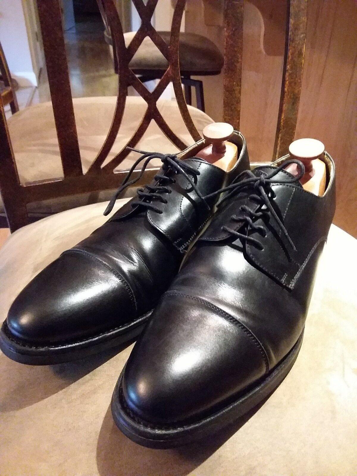 Berwick 1707 Shoes Goodyear Welted. Cap Toe. Made in Spain. Size USA  10.5M Scarpe classiche da uomo