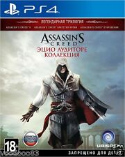 Assassin's Creed: The Ezio Collection (PS4)En,Russian,German,Italian,French,Esp