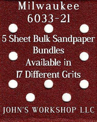 No-Slip 5 Sandpaper Bundle 1500 Grit CRAFTSMAN 911177-1//4 Sheet