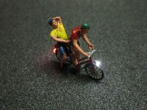 f60 h0 fahrrad mit led beleuchtung mit figur zwei. Black Bedroom Furniture Sets. Home Design Ideas