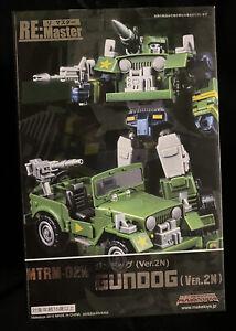 Transformers MakeToys MRTM-02N Gundog 2N G1 Hound Masterpiece MISB