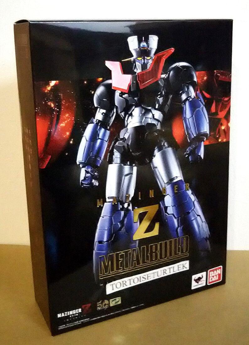 Bandai acumulación de Metal Mazinger Z ABS PVC Diecast Figura de acción