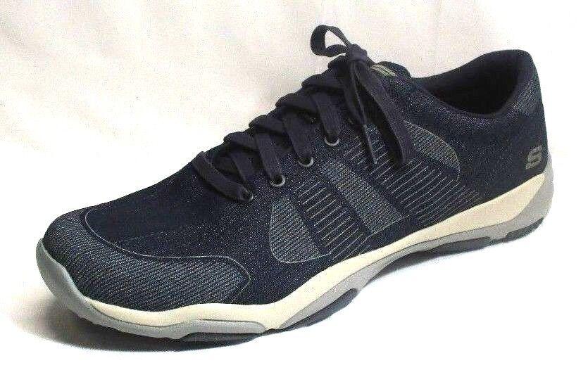 Skechers Men's Larson-Belmen Casual Shoes, Navy, Comfortable Brand discount
