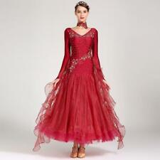 2019 NEW Ballroom Competition Dance Dress Modern Waltz Tango Standard Dress 7024
