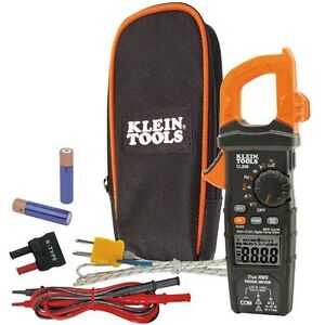 Klein-Tool-CL800-Digital-Clamp-Meter-Auto-Ranging-600A-AC-DC