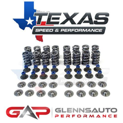 """TSP 4.8//5.3//6.0//LS1//LS2//LS3 Texas Speed .660/"""" Dual Valve Spring Kit Titanium"""