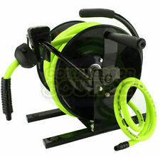 Flexzilla 38 X 50 Hand Crank Air Hose Reel 300 Psi Portable L8651fz With Hose