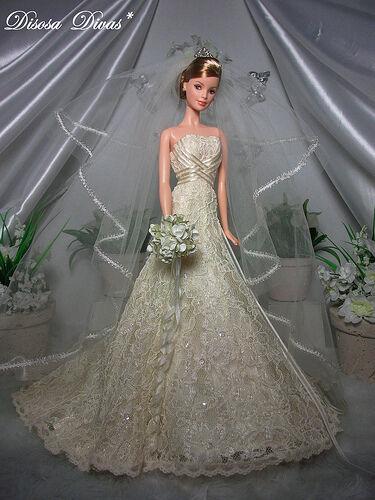 Barbie Carolina Herrera Bride Barbie Gold Label NRFB  Mint