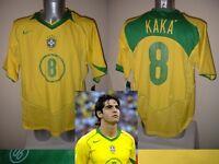 Brazil Brasil NEW BNWT Nike KAKA Football Soccer Shirt Jersey 2004 Adult XL Top