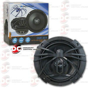 "SOUNDSTREAM SME.654 6.5"" CAR AUDIO MID RANGE SPEAKER (COMES W/ ONE SPEAKER ONLY)"