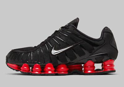Nike Shox TL Skepta Black Red Silver Size 14. CI0987-001 air max vapormax | eBay
