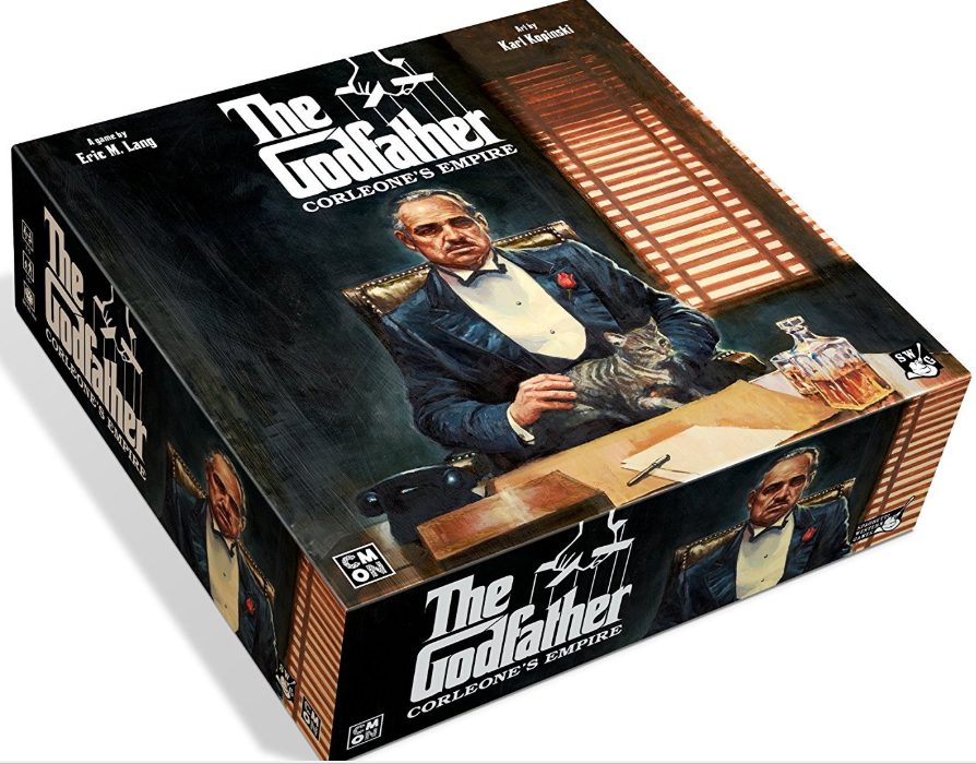 The Godfather Corleone's Empire CMON Board Game