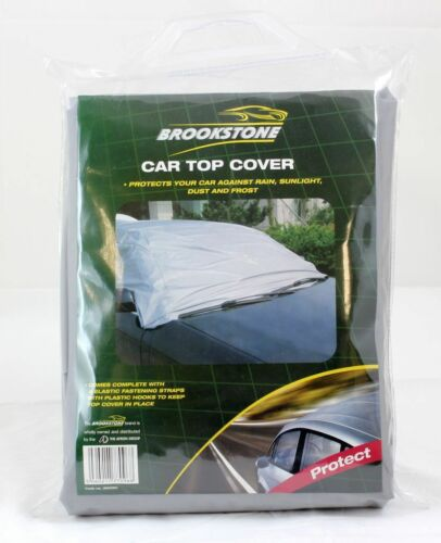 Brookstone Car Top Cover Fits Most Family Cars Water Resistant