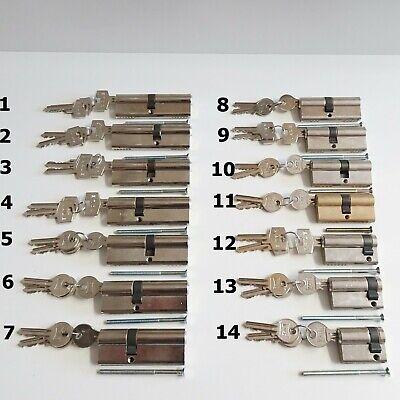 verschiedene Maßen mit 3 Schlüsseln KALE Türzylinder Schließzylinder
