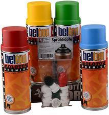 Belton Molotow Premium Sprühdosen Set Grundfarben 4x400ml inkl. 12 Caps
