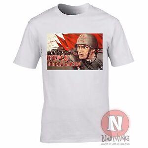 Russisch Weltkrieg 2 Propaganda T Shirt Militar Geschichte Ww2