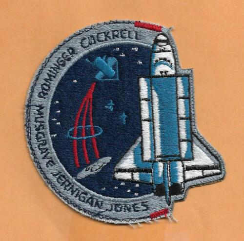 """SHUTTLE COLUMBIA STS-80  4/"""" PATCH  IMPERFECT"""