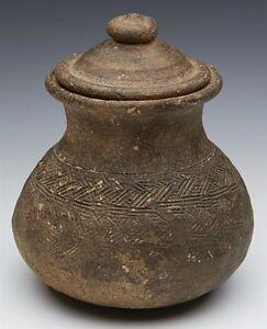 Archaic Sud Est Asiatico Khmer in terracotta Jar 9/10TH C.