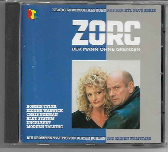 ZORC-CD 1992 HANSA- Dieter Bohlen- Bonnie Tyler/Les McKeown/C.C.CatchBlue System
