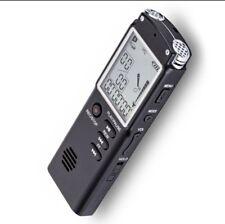 REGISTRATORE AUDIO TASCABILE 16 GB digital audio voice recorder