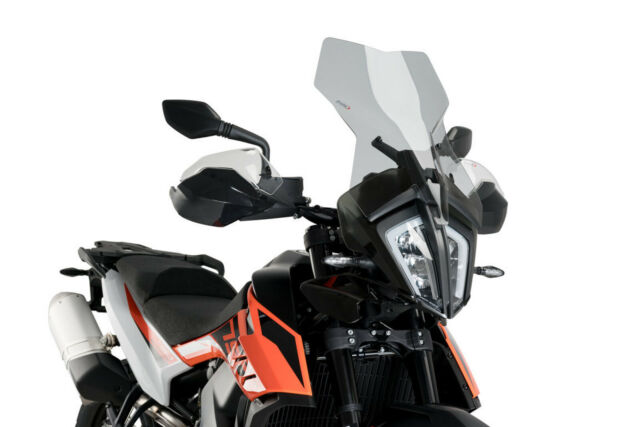 PUIG TOURING SCREEN KTM 790 ADVENTURE 19-21 LIGHT SMOKE