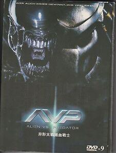 Avp Alien Vs Predator 2004 Dvd Widescreen Ebay
