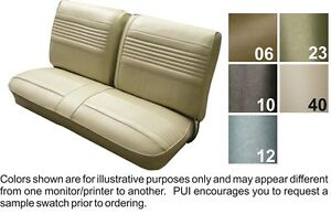 Wondrous Details About 1969 Oldsmobile Cutlass F85 Front Split Bench Seat Cover Pui Machost Co Dining Chair Design Ideas Machostcouk