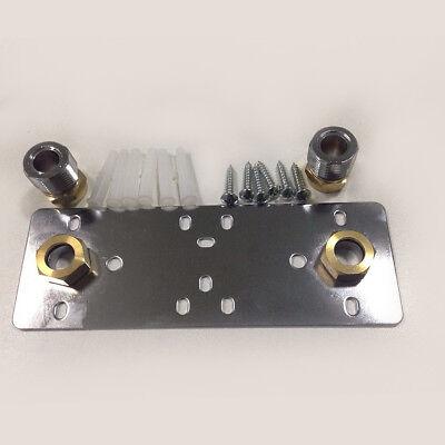 Exposed Shower Mounting Bracket Mixer Bar Valve Fixing