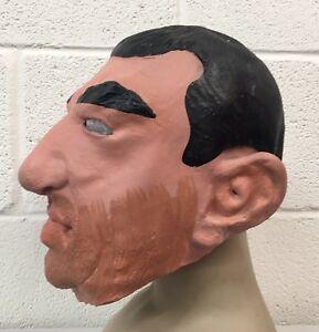 Details Zu Suchen Nach Eric Maske Halloween Kostum Latex Eric Cantona Fussball Franzosisch