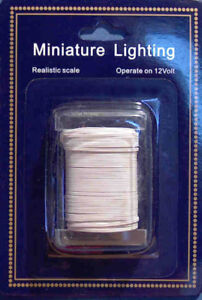 image is loading dolls-house-50ft-double-wire-electric-wiring-lighting-