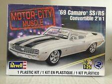 +++ Revell US Monogram 1/25 '69 Camaro™ SS/RS Convertible 2'n 1 85-4929