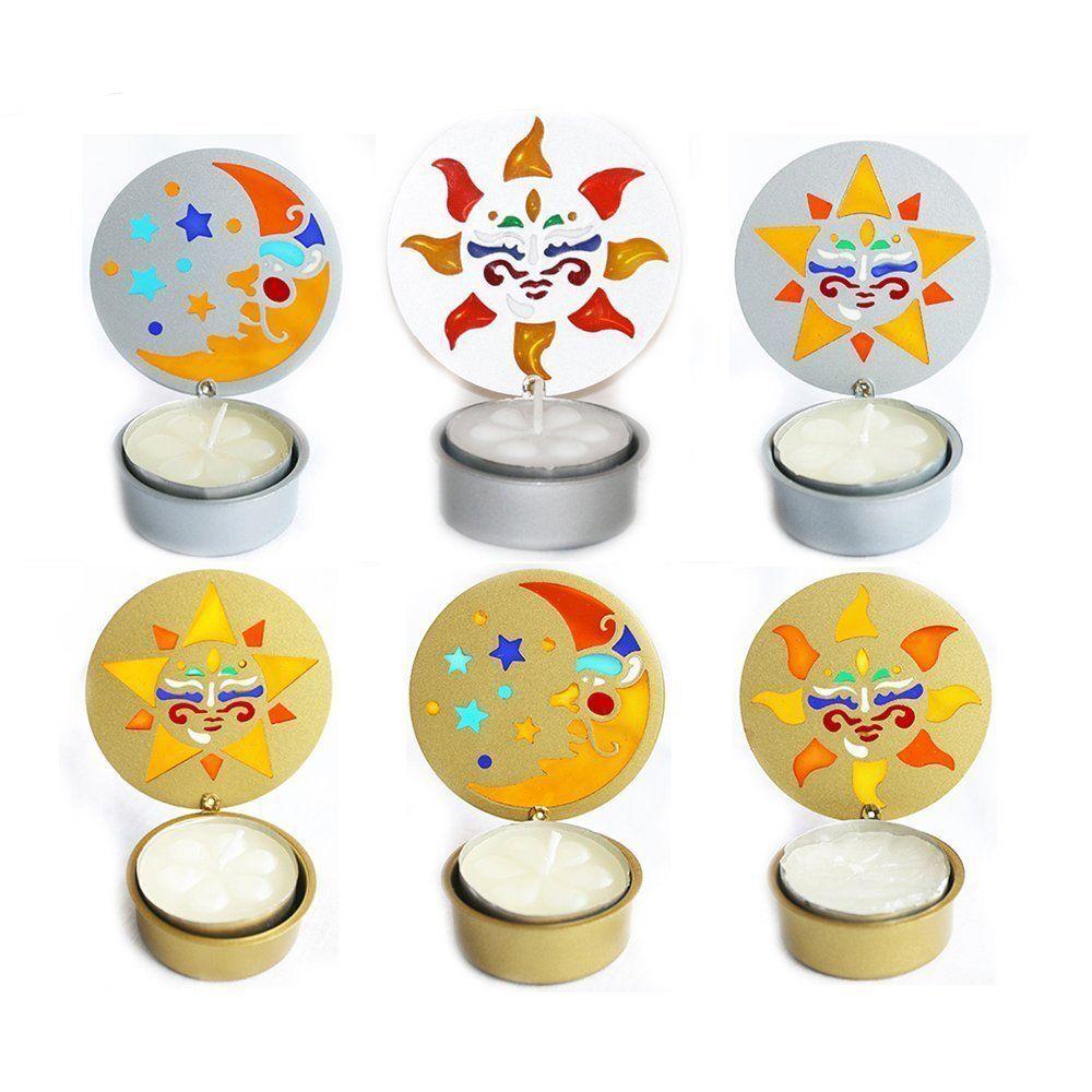 Tea Light Candle Holders Decorative Table Table Table Garden Job Lot 50 100 150 200 Pieces df466d