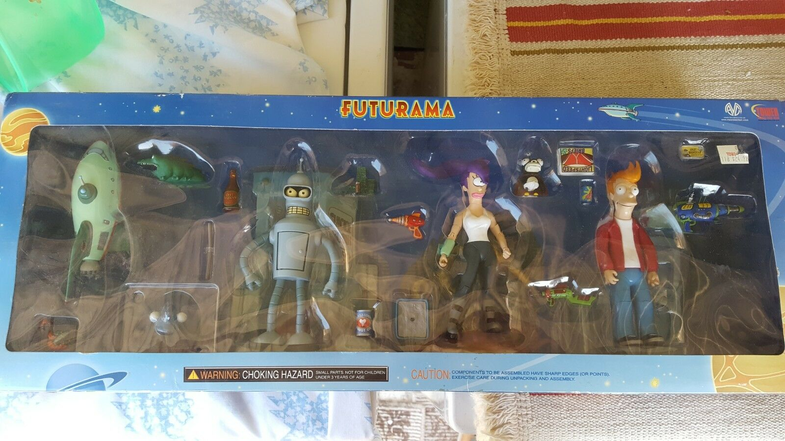 2001 Futurama Collect O Pak Planet Express for Tower Records