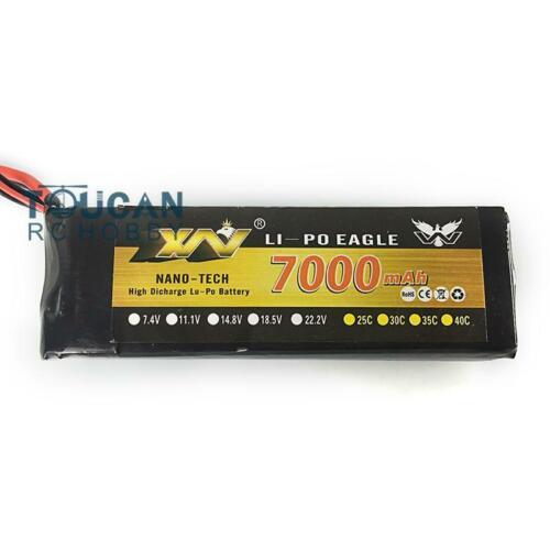 7000MAH Lipo Battery for HengLong 1//16 RC Tank Model