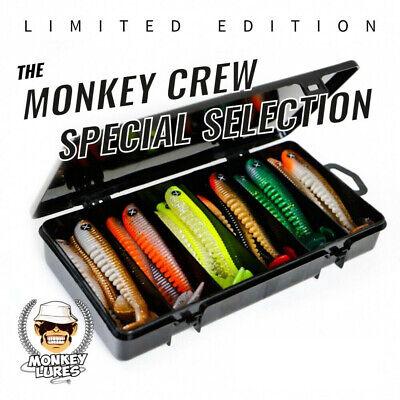 Monkey Crew Special Selection 7,5cm //// Limitierte Edition //// Angel-Köder