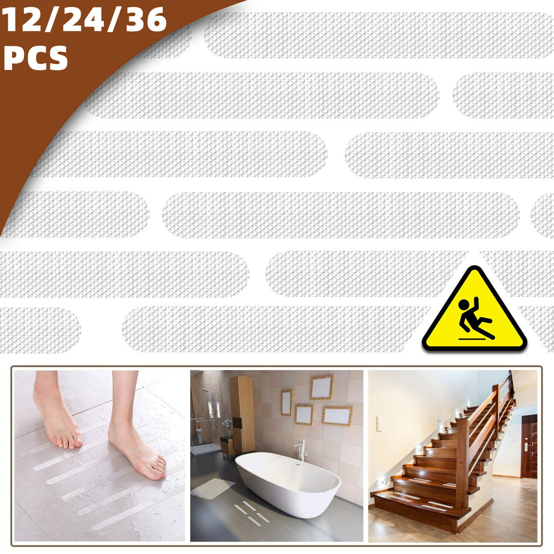 20X Flower Shape Anti-slip Bath Grip Stickers Shower Strips Pad Floor Tape Mat