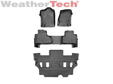 WeatherTech FloorLiner for Chevrolet Tahoe w/Bucket Seats - 2015-2017 - Black