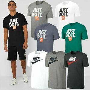 para-Hombre-Nike-Swoosh-Tick-Gimnasio-Deportes-JDI-Mangas-Cortas-Algodon-Camiseta-S-M-L-XL-rrp20