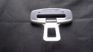 Hebilla de alarma Gris BMW del cinturón de seguridad Clip clave Insert PLUG//Tapón De Cierre De Seguridad